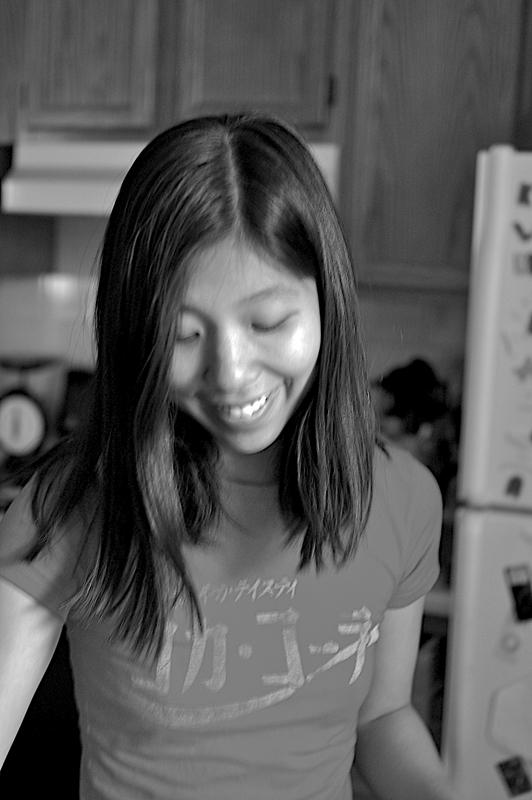 christina in black and white
