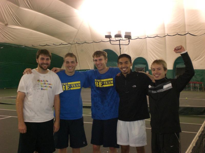 be tennis team